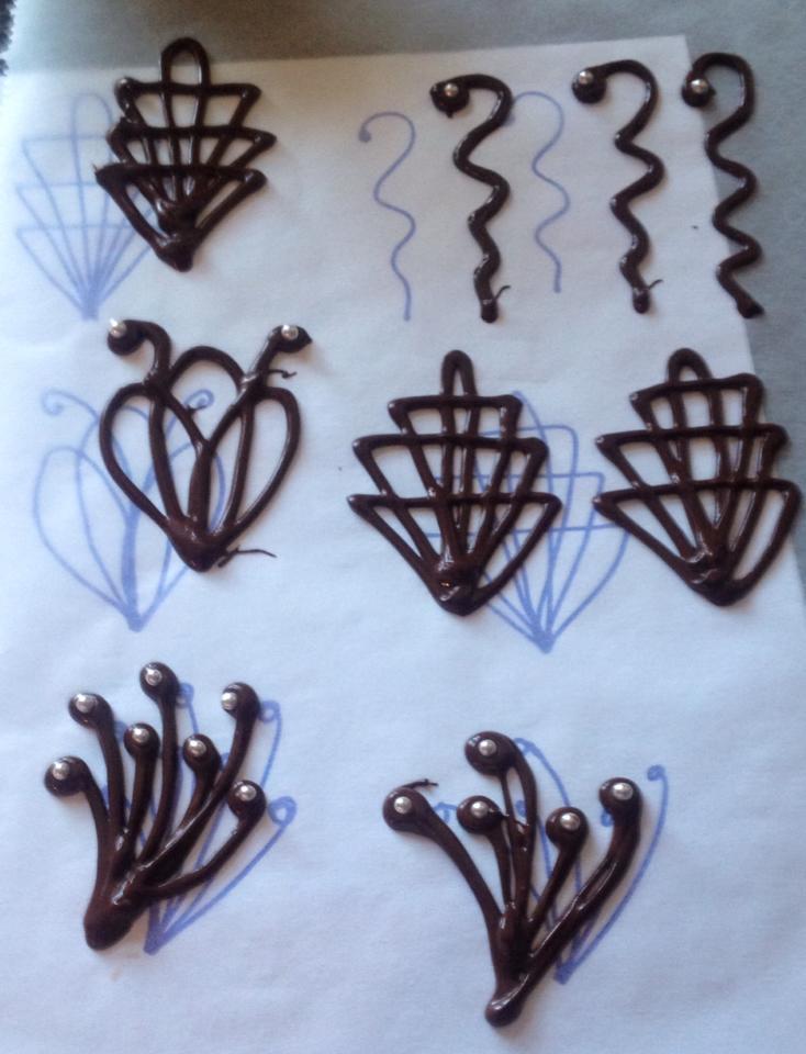 Figuras de chocolate - Figuras para decorar ...